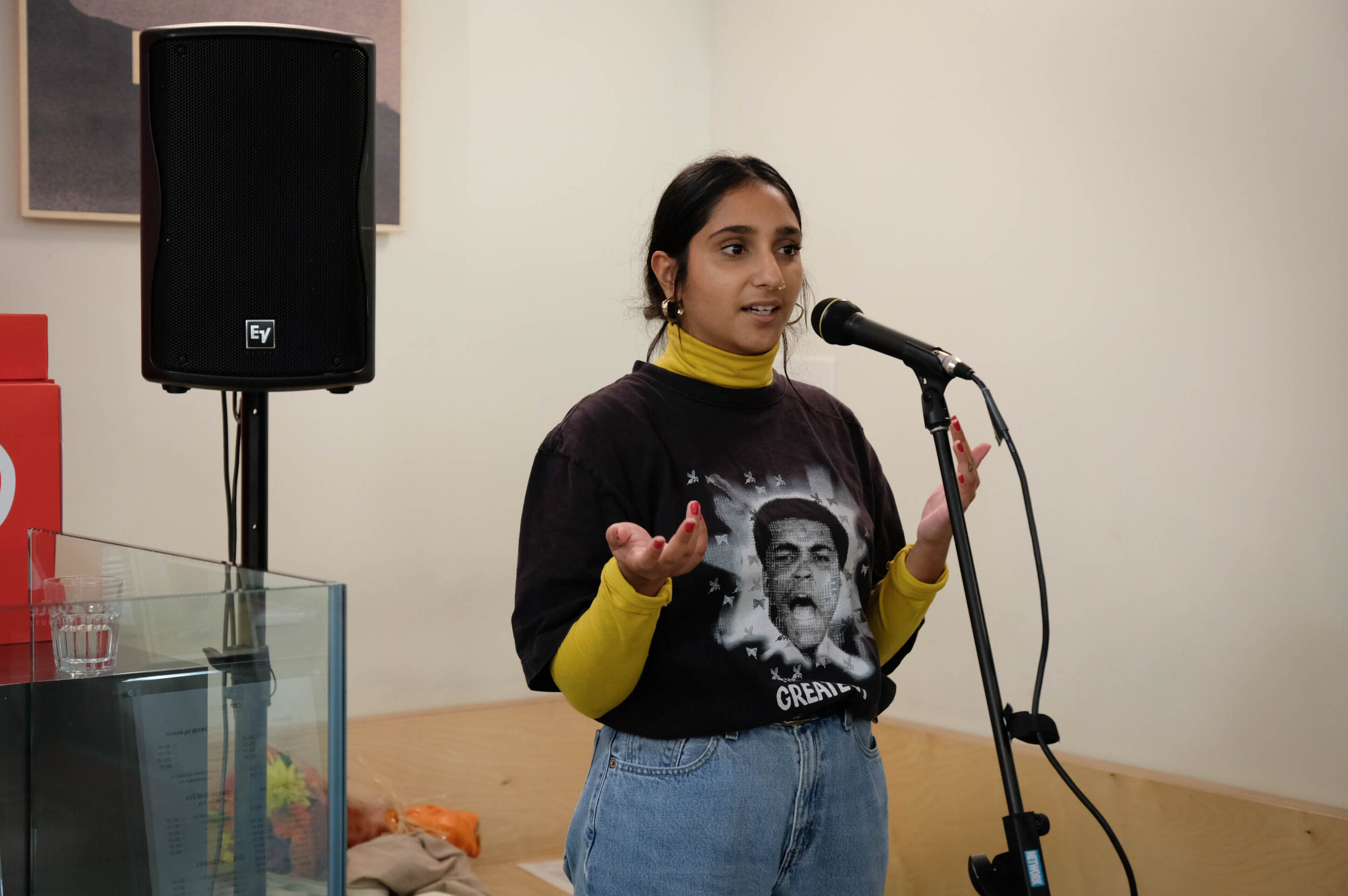 """Molly, an Open Mic Contributor on: The Contrast Collective and their magazine that """"focuses on themes of race, gender, sexuality and growing up as a person of colour""""."""