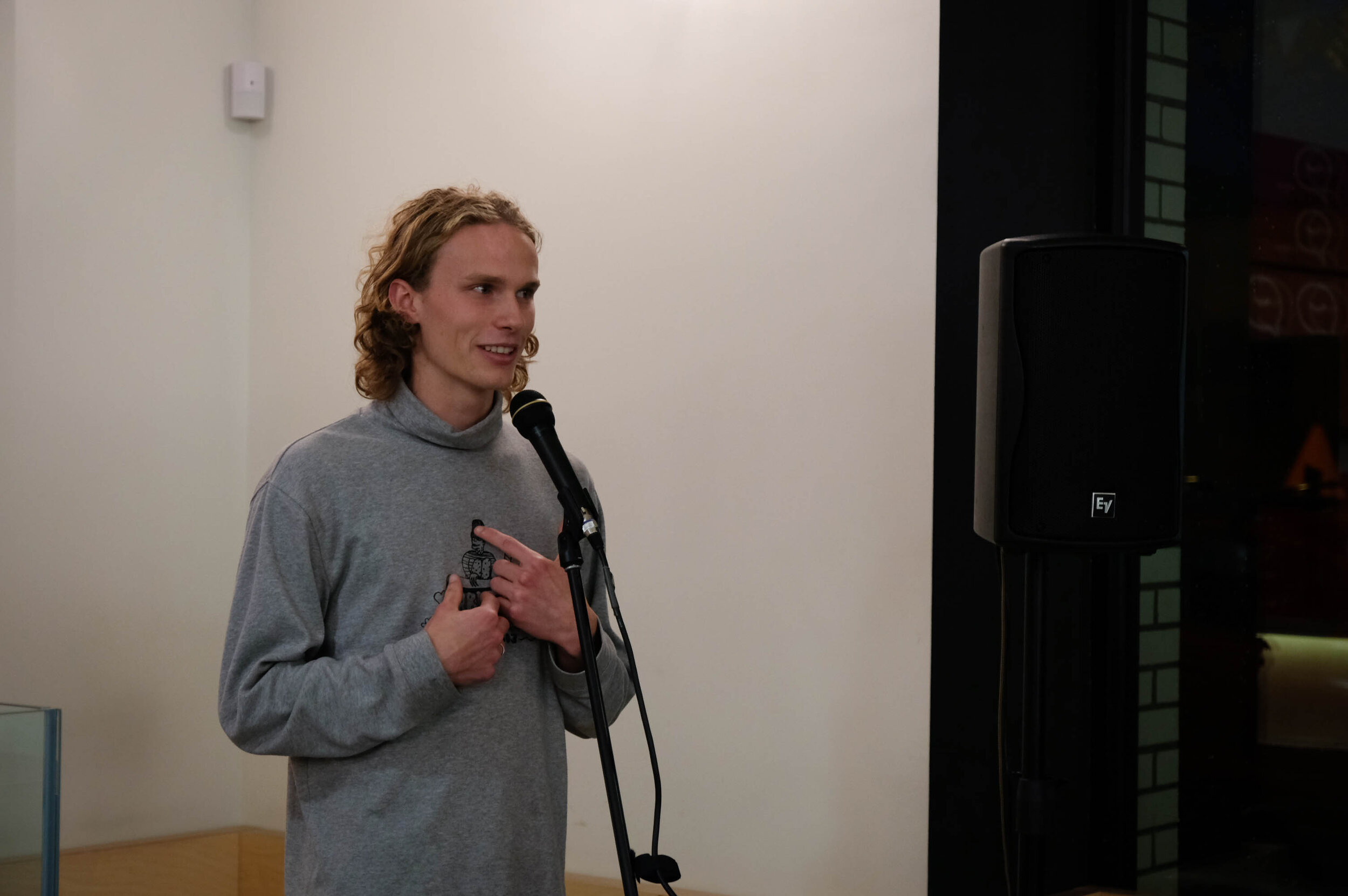 """An Open Mic contributor, John: on his """"sex talk"""" and his instilled appreciation for the fine mechanics of the female anatomy"""