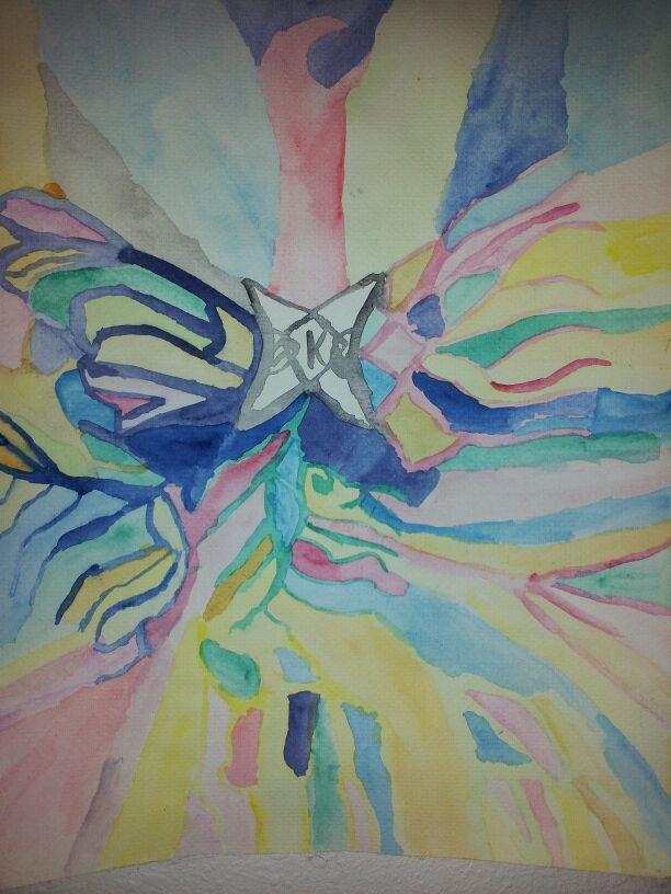 Picture copyright Taylor Ellwood 2019 - Phoenix painting