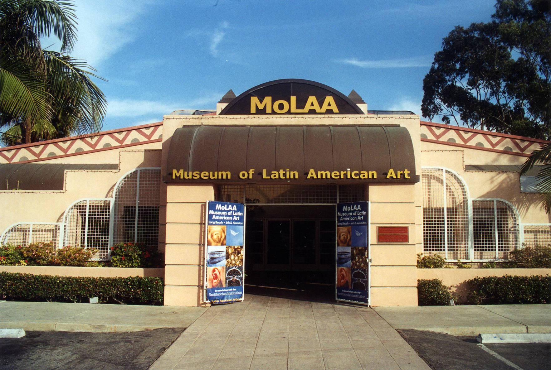 The original MOLAA Building