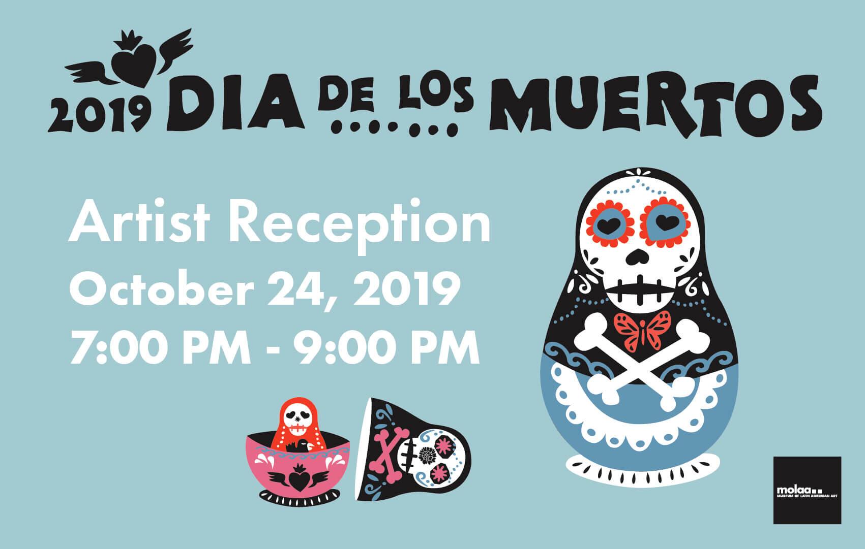 Día de los Muertos Artist Reception