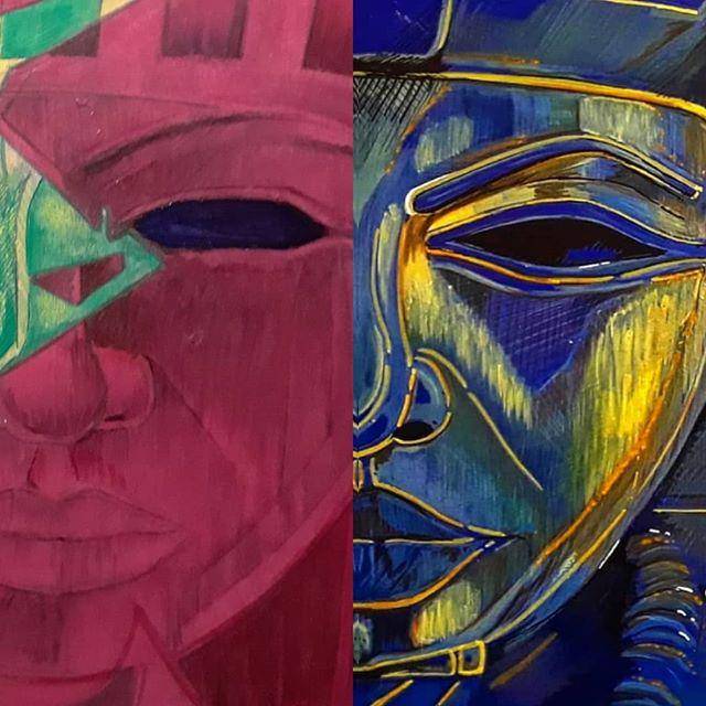 Crimson Tides  #Visualistart #crimsontides #red #blue #azulpharaoh #crimson #faceofpharaohs #art #artwork #redandblue #Visualist