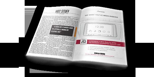 AR Experience Magazine Ad