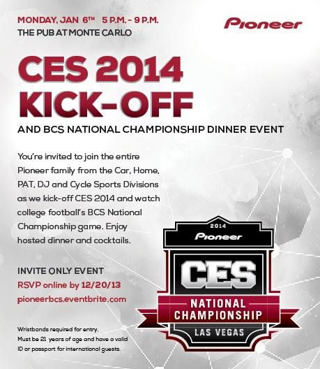 CES Event Flyer