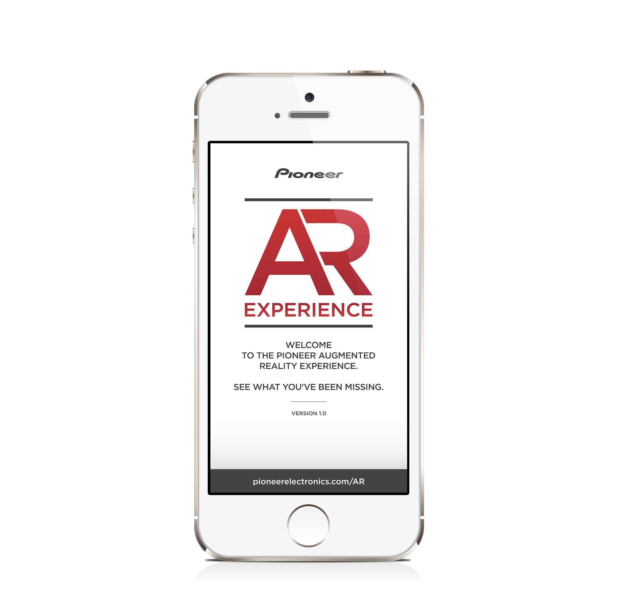 AR Experience App