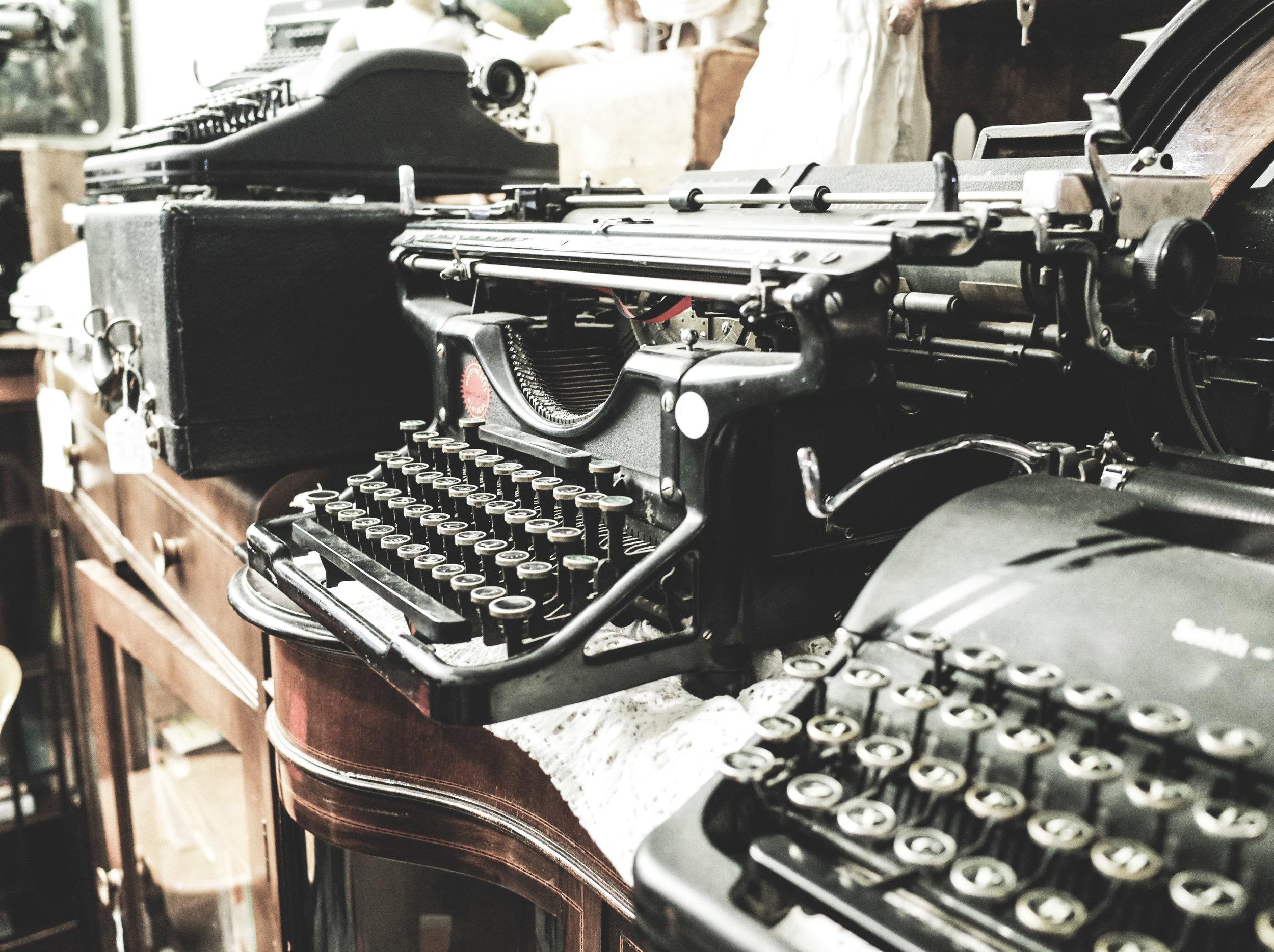 Typewriters -