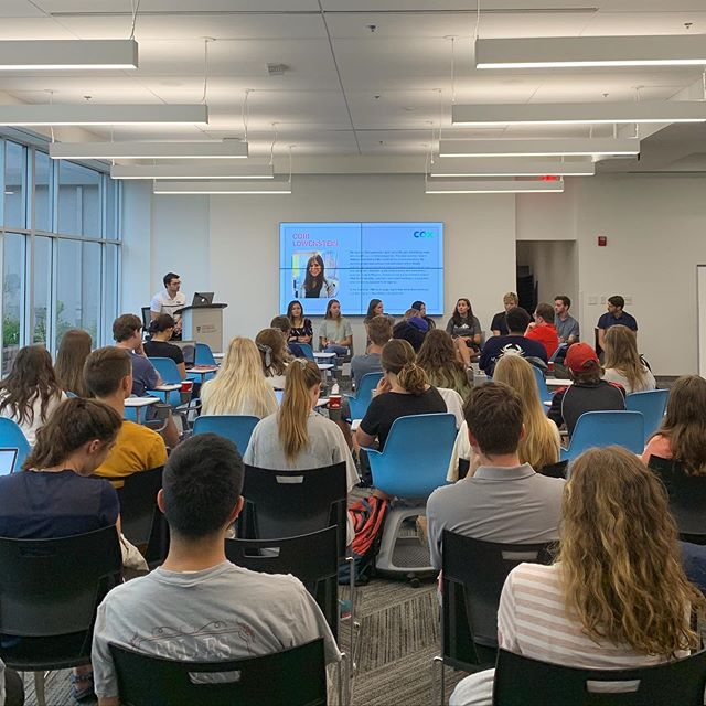 Thanks to all who came out to our internship panel last week! Our next meeting will be on Tuesday September 10th at 7pm in Journalism 412 with speaker Sean Jones from the ABAC Mentorship Program! Hope to see you there!
