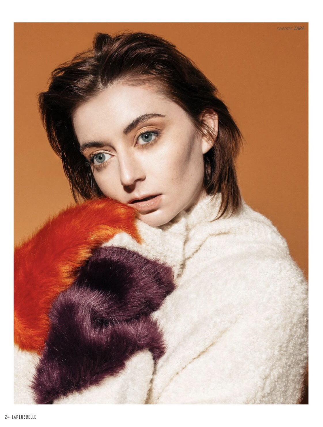 nectarine dream//la plus belle magazine - / photographer : alicia stepp / model : nina burns/ hmua : briana dai