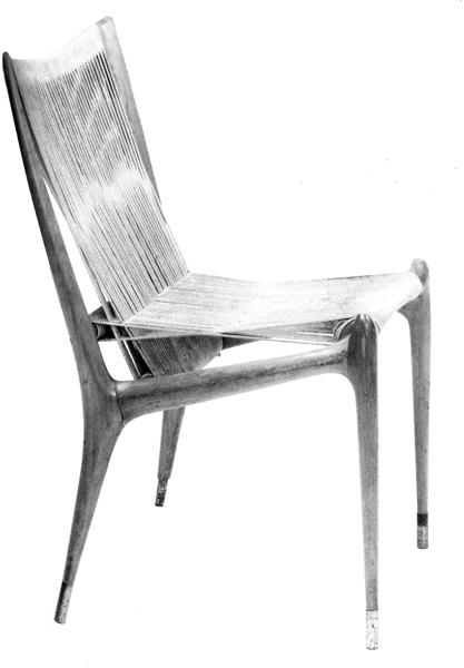 Cord chair, 1950
