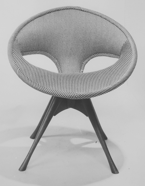 Cone dining chair, 1955