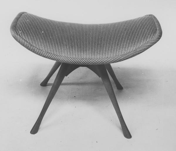 Cone footstool, 1955