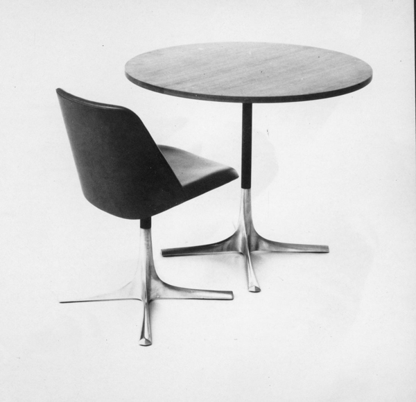 Varna chair and table, 1966