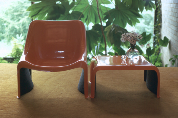 Poli chair and table, 1971