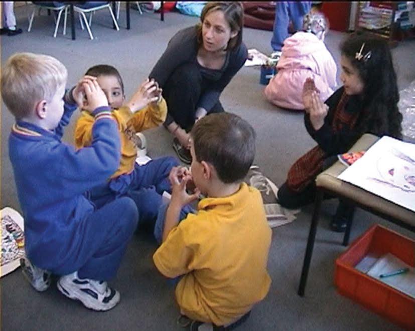 Teacher and 'Brain' group