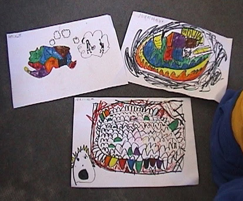 Children's drawings of brains and dreams