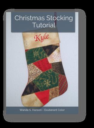 Christmas Stocking Tutorial Exuberant Color