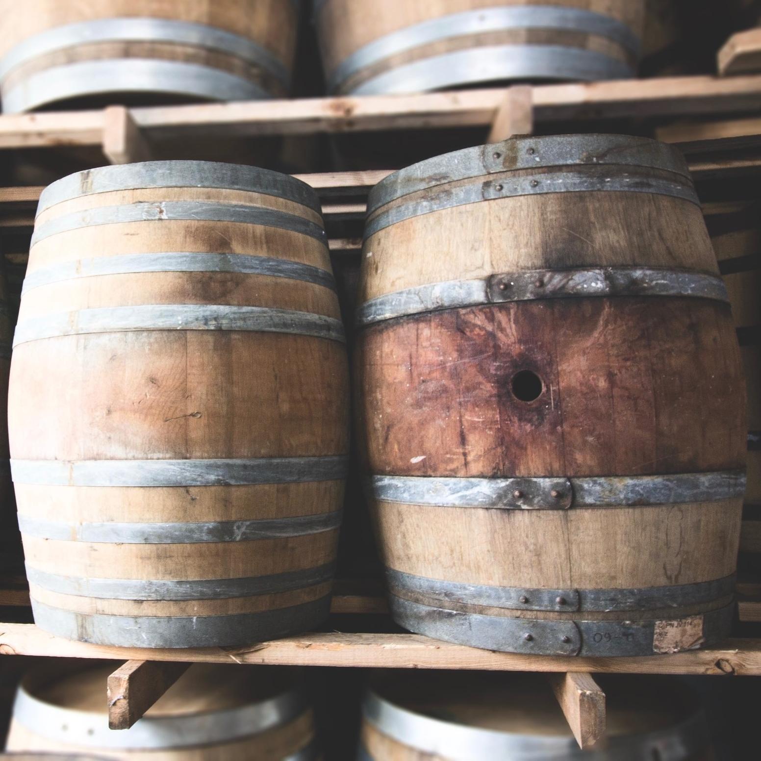 - Furniture grade wine barrel