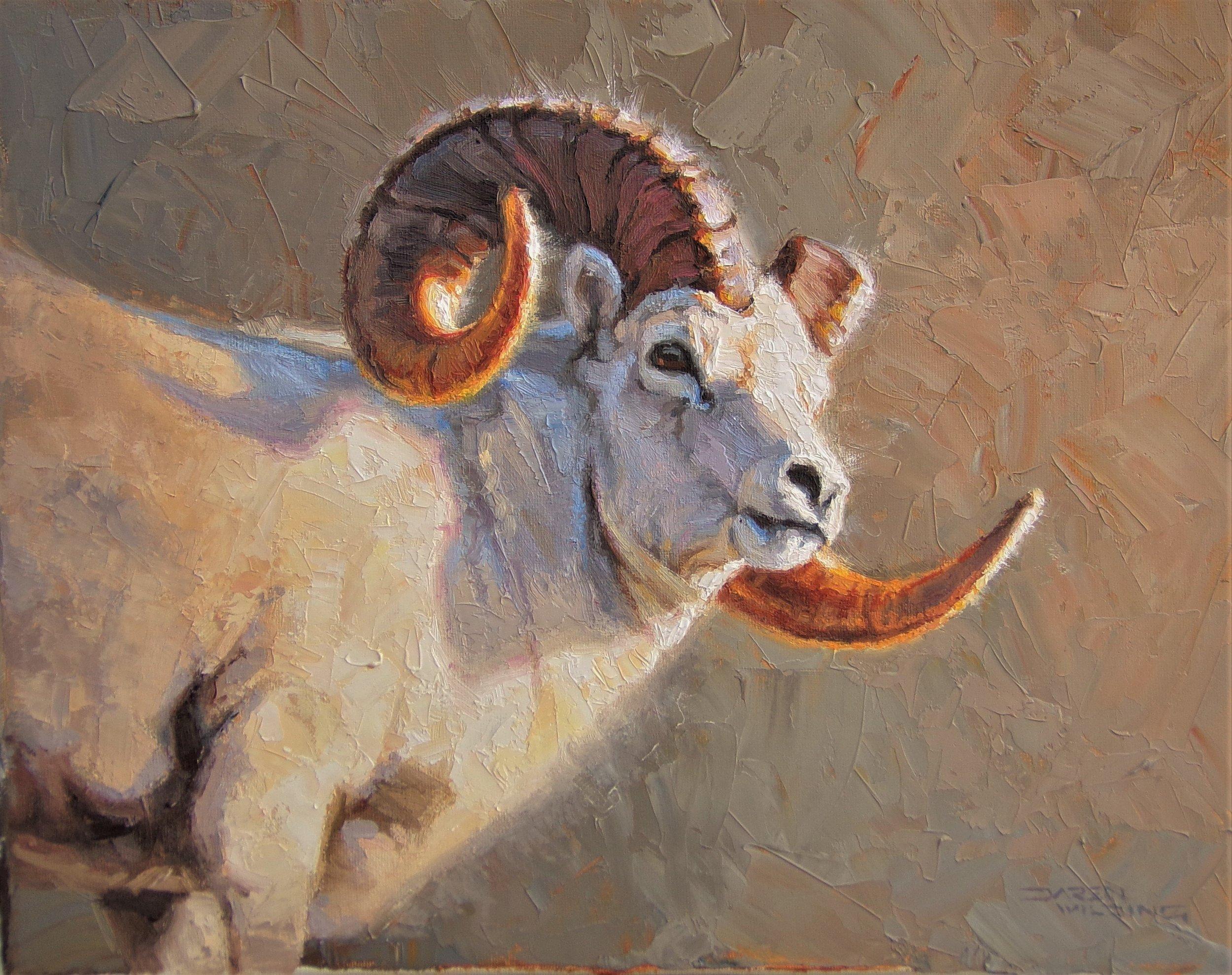"""Alaska Gold"" - 11x14"" oil on canvas"