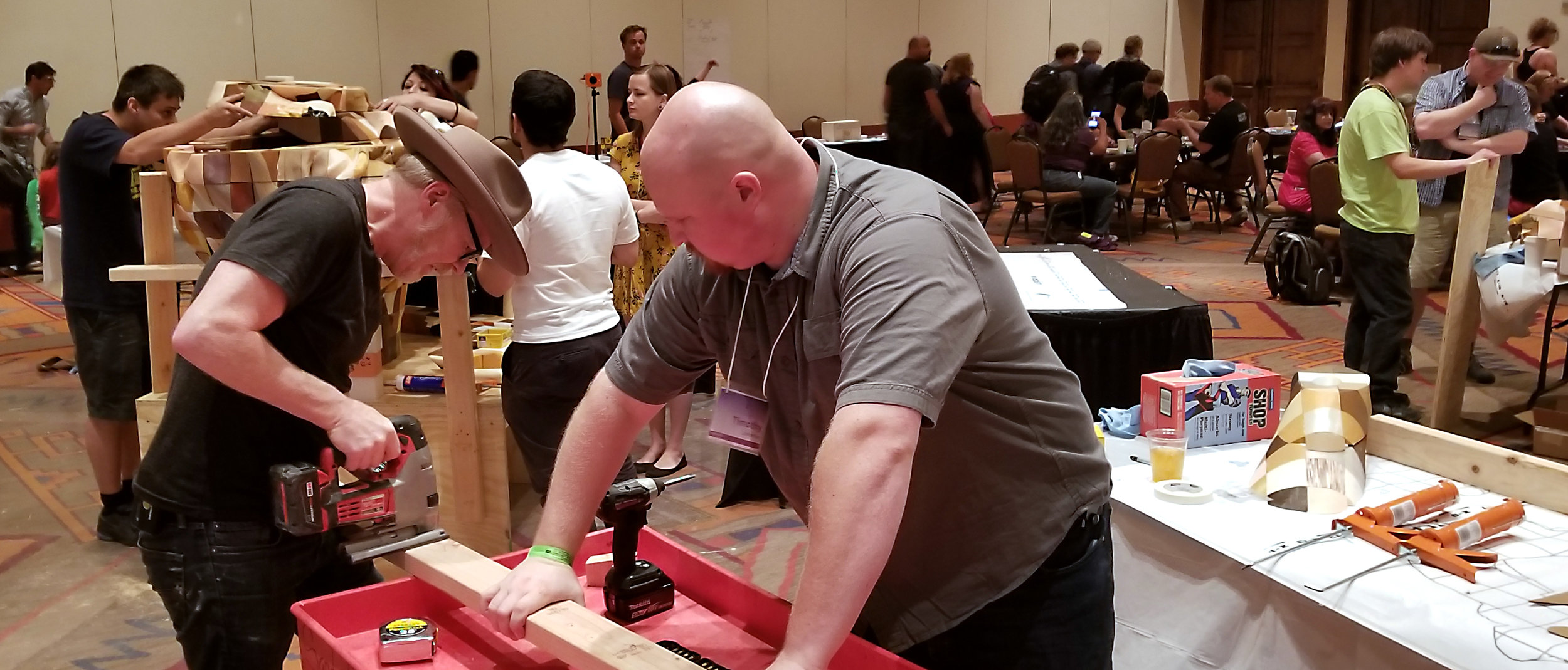 Adam in action Exhibit Hall.jpg
