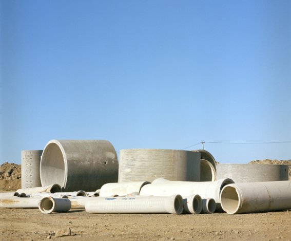 Carolin Casey: 'Pipe mountain', 2009