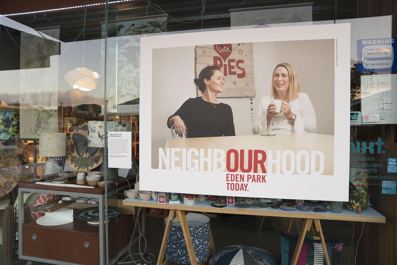 Lee Howell's 'Our Neighbourhood' exhibition in Kingsland