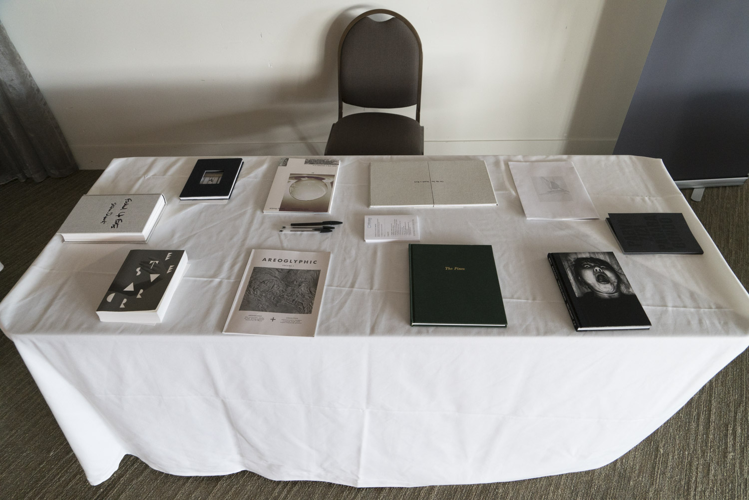 Finalists for the 2017 Australian Photobook of the Year Award.