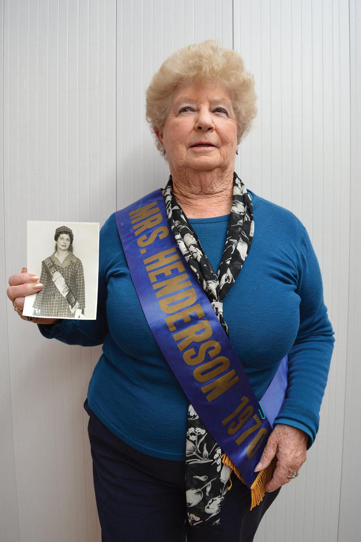 June Patchett - Miss Henderson 1970, 2017. Photograph by Fresh Concept.