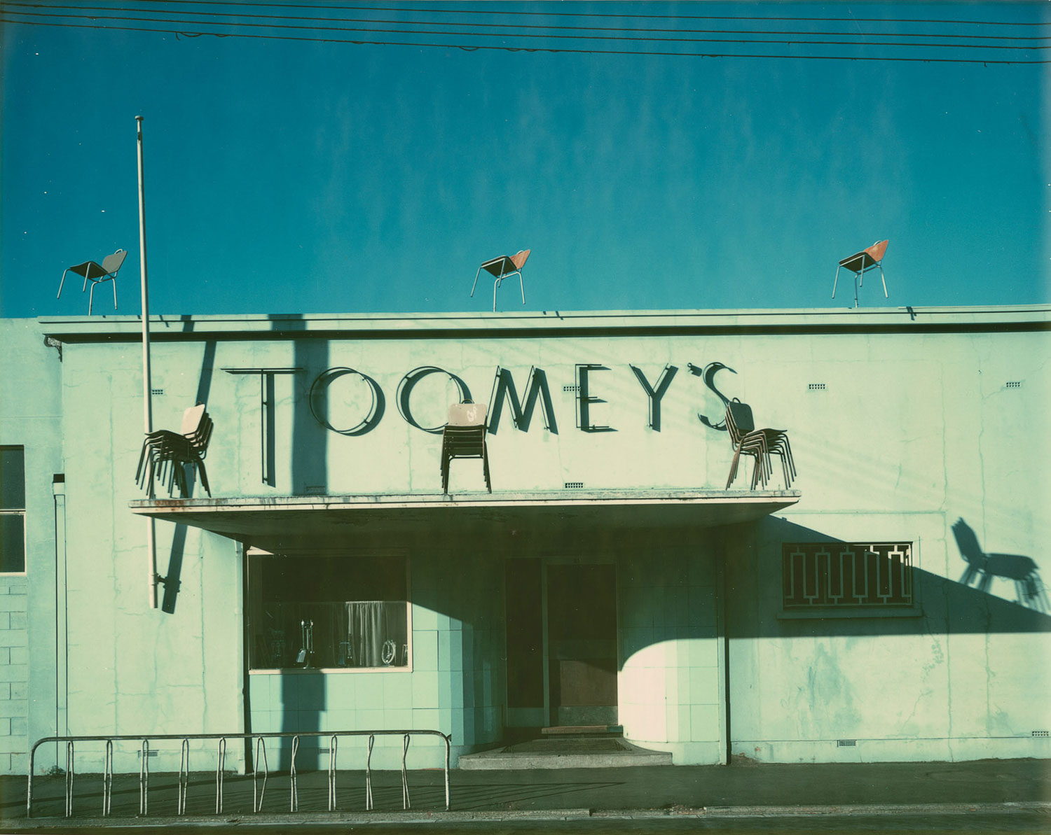 Laurence Aberhart.  Toomey's, Ferry Road, Christchurch  November 1979 - January 1980.