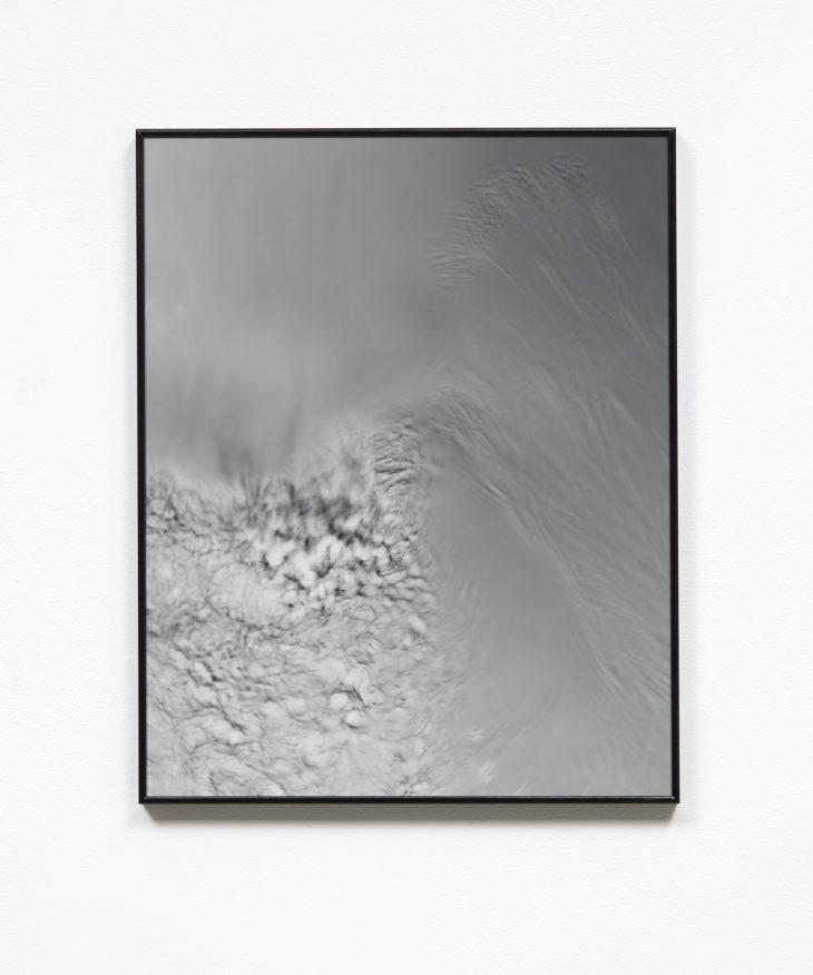 Dissipative Structure II,  2018  Silver gelatin print, museum glass in artist frame  400mm x 600mm
