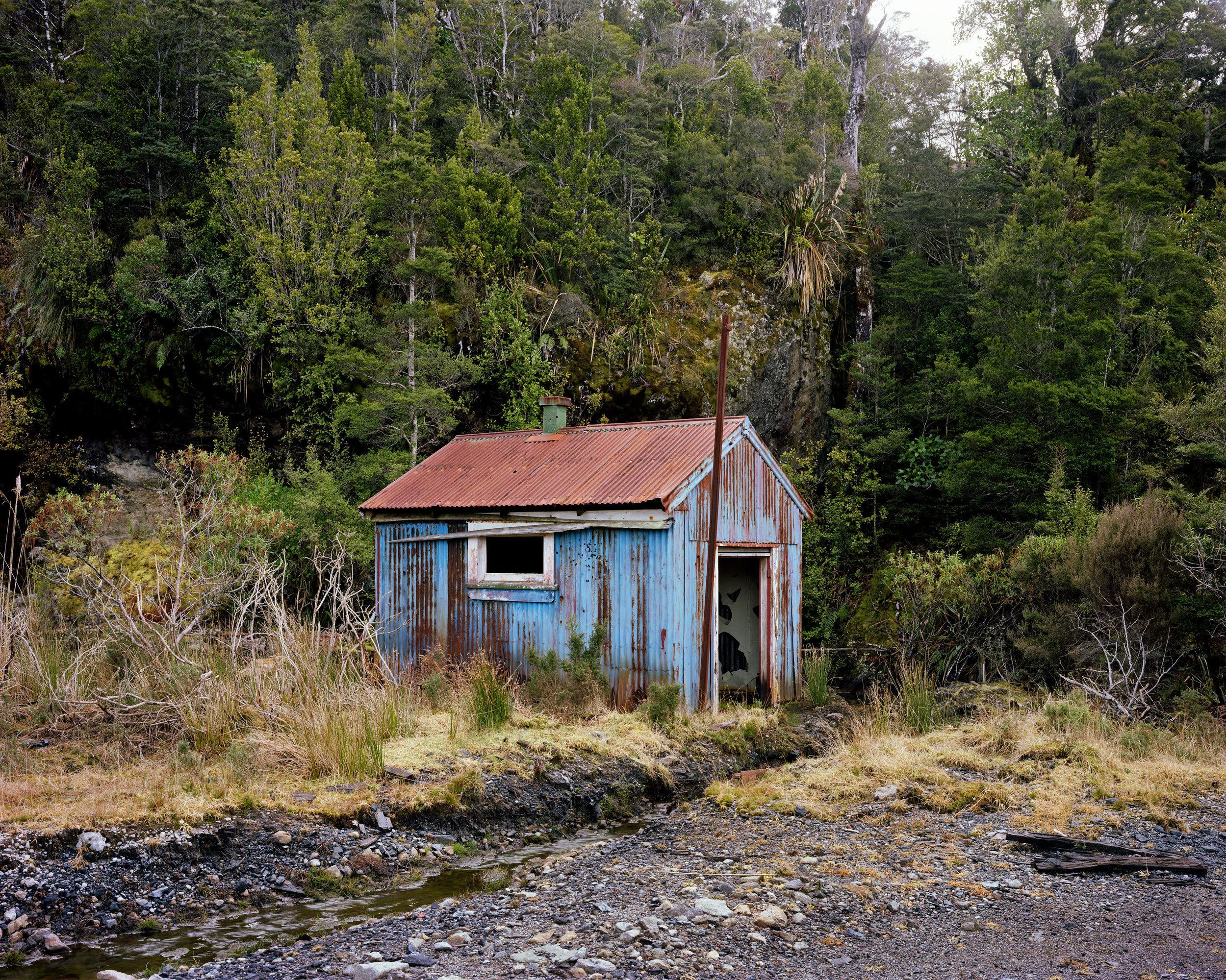 Winter, Powerhouse at the Old Escarpment Mine, Denniston Plateau