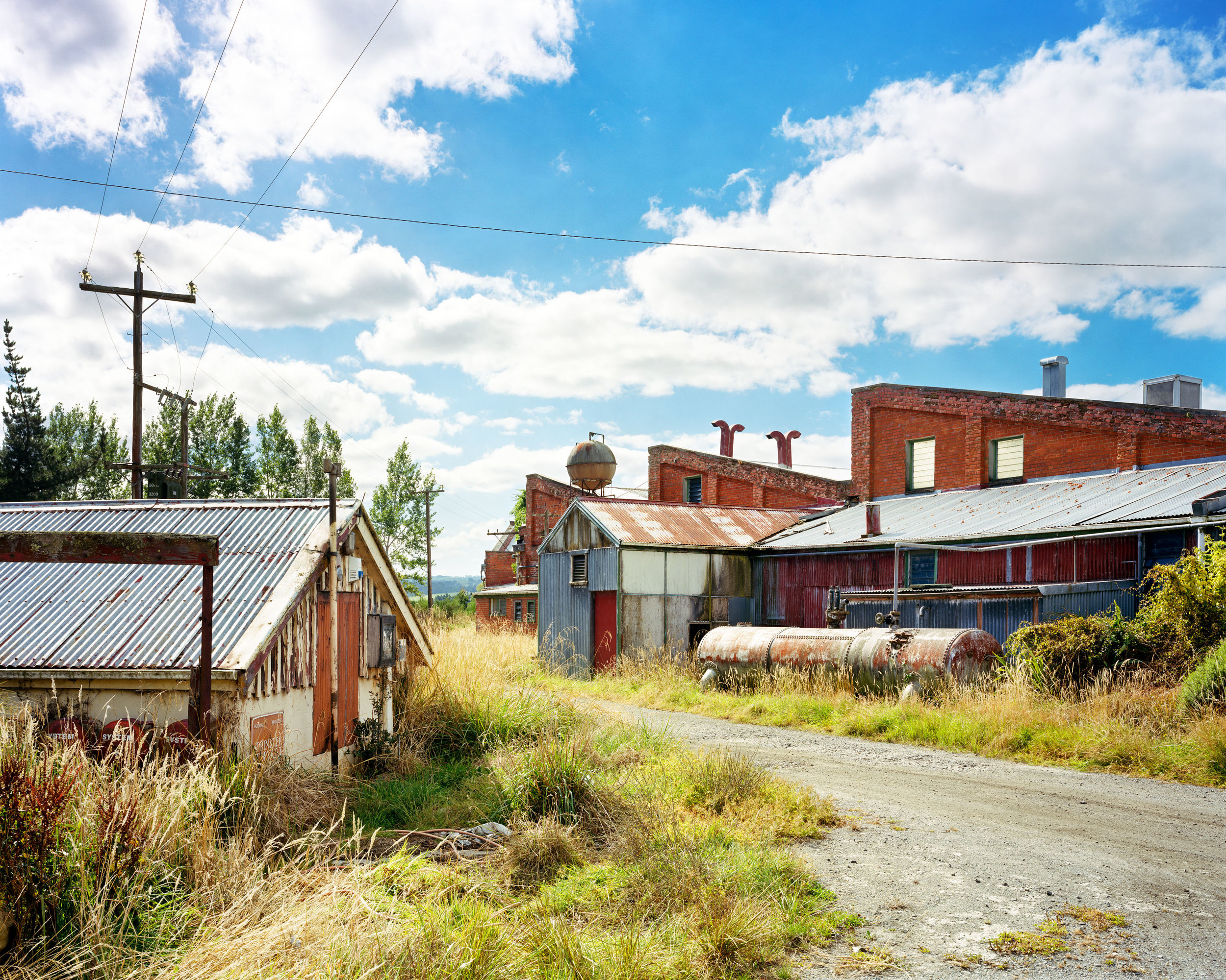 Boilers Behind the Woollen Mill, Milton