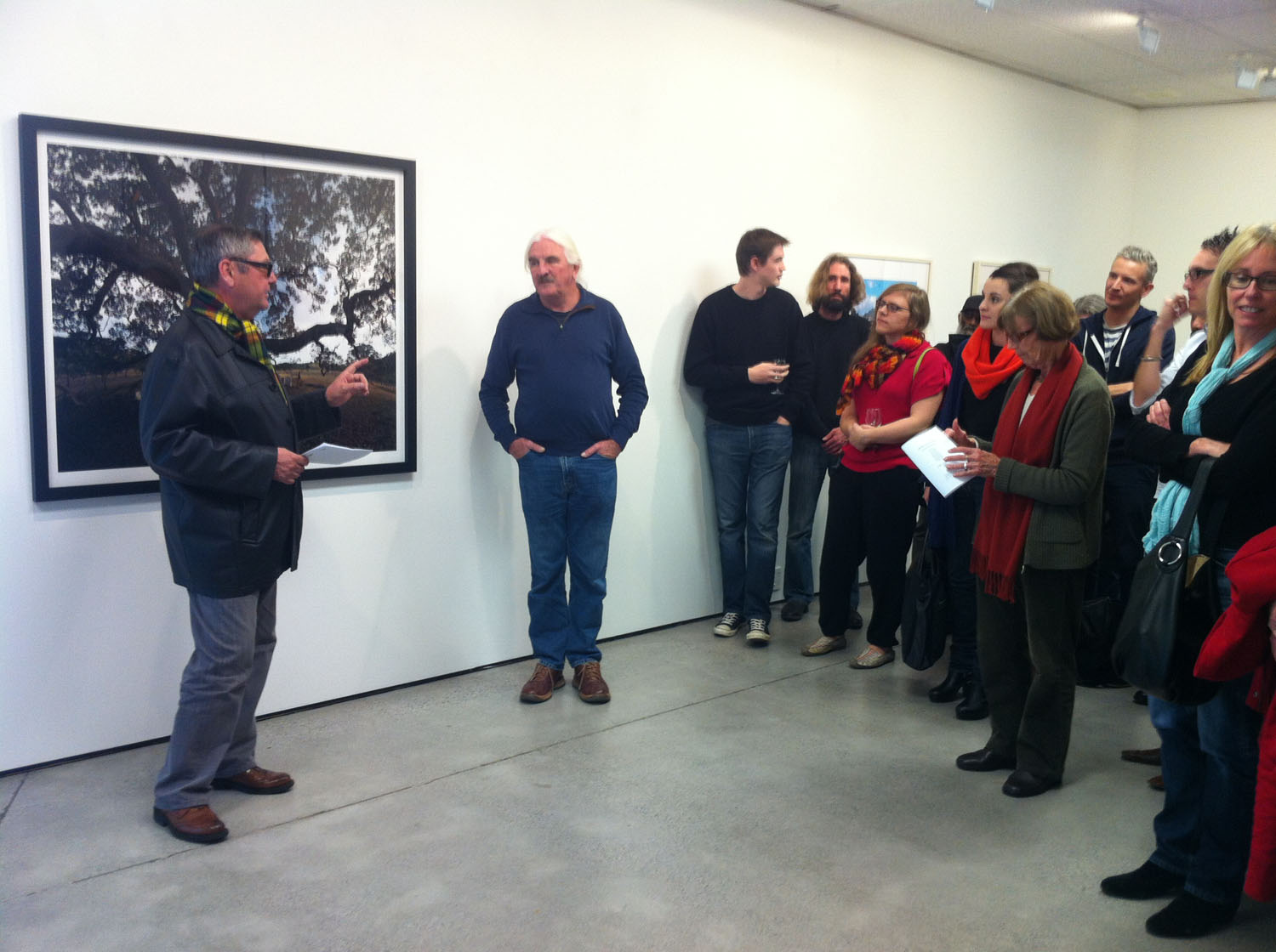 Ian Macdonald discusses his work with Ron Brownson