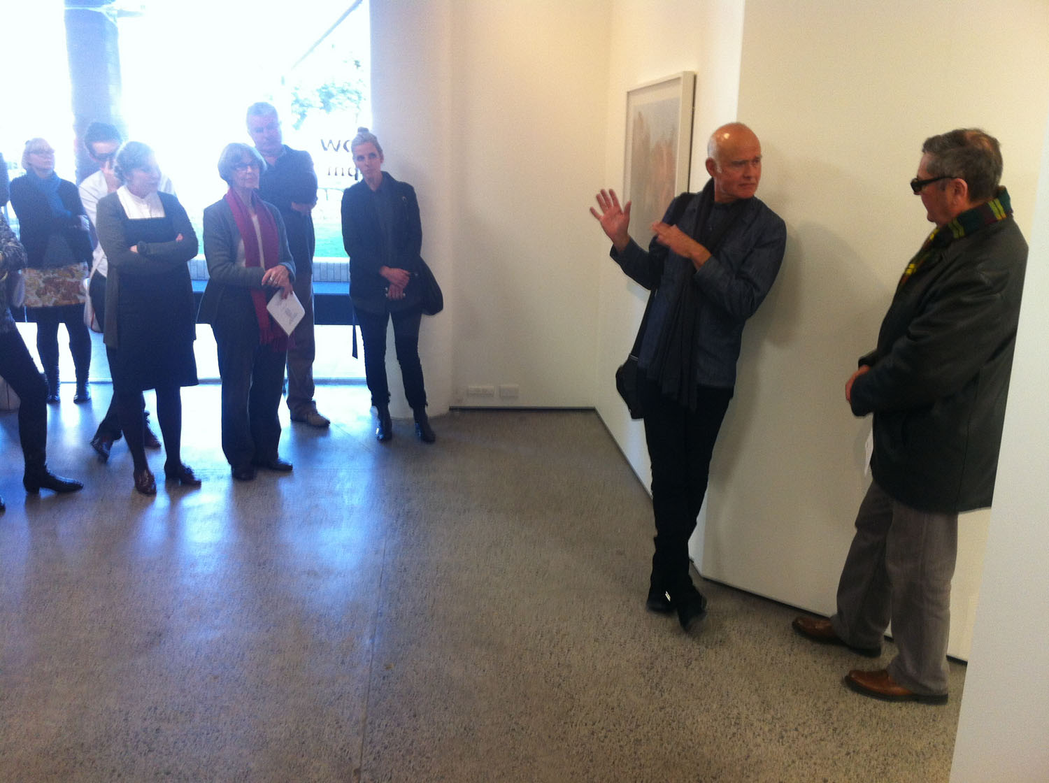 Bruce Connew discusses his work with Ron Brownson