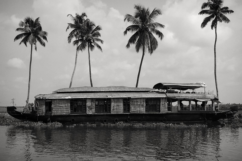 Julian Ward   River Boat. Allappuzha, Kerala, India  2012