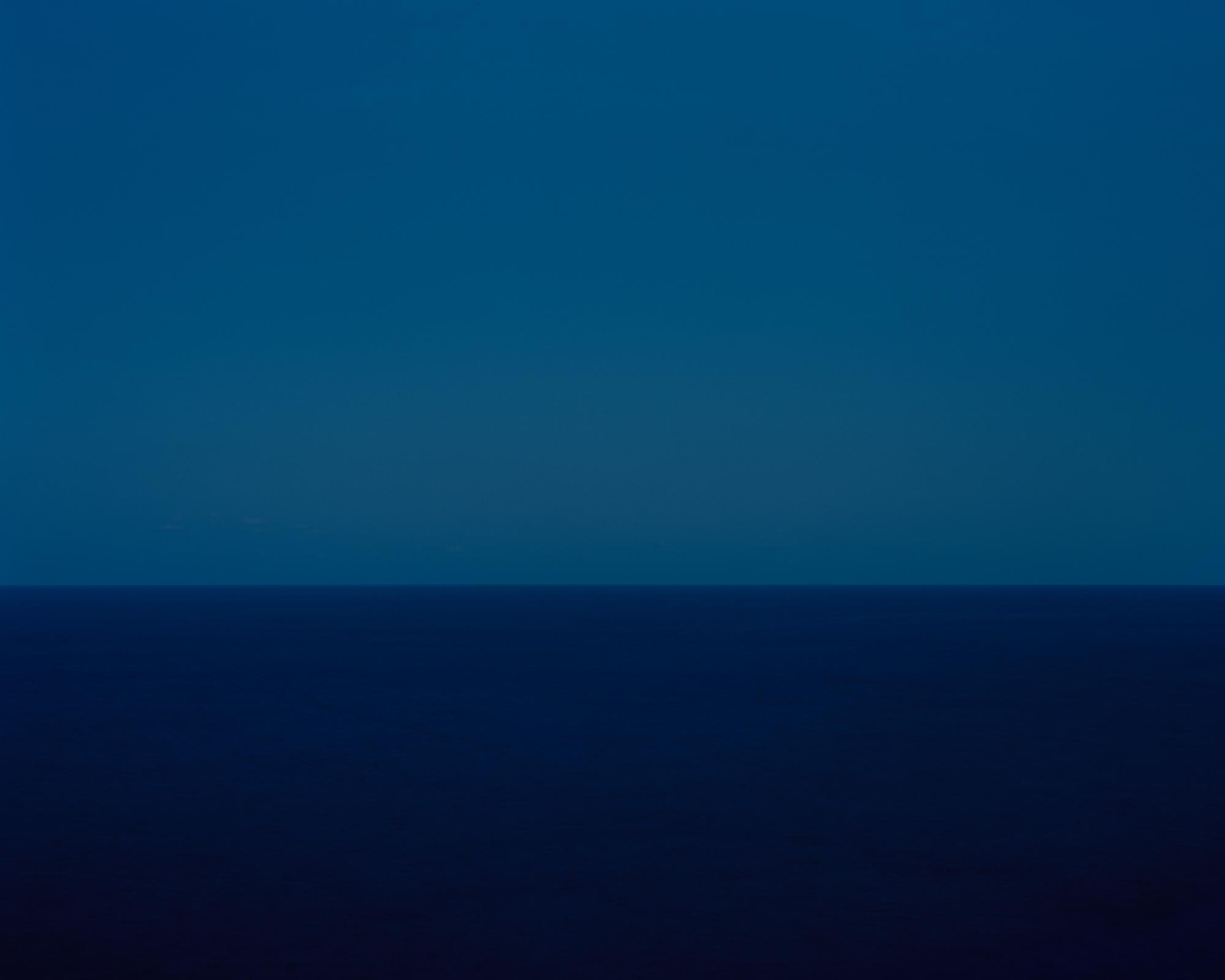 Harry Culy: Seascape #122, blue/blue, The Gap, Vaucluse, Sydney, Australia 2018