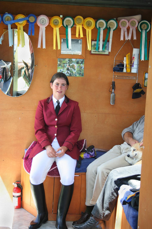 Horse Float, Te Atatu Pony Club, Sunday 8 January 2006. (JBT689)