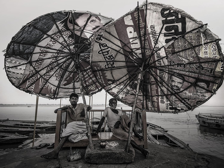 Cai Huansong: 瓦拉纳西,  India  2013 (PB010943)