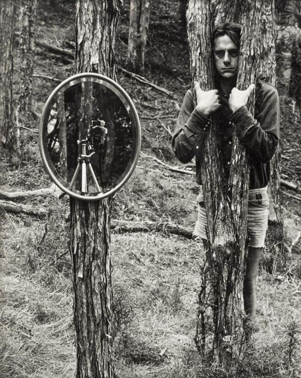 Peter Peryer,  Untitled  (from Reflections assignment,  Photo-Forum  22, (October/November 1974)