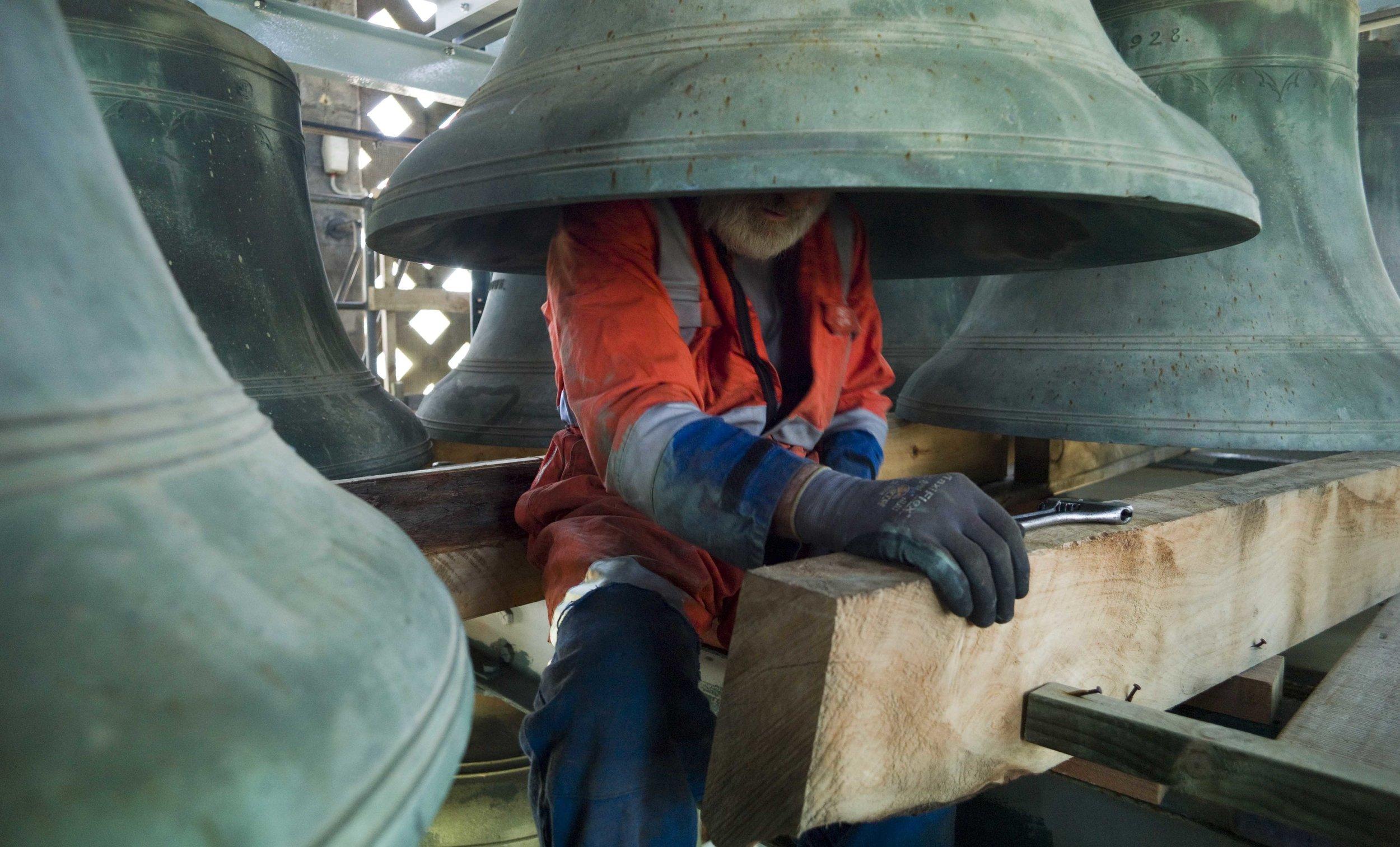 Alan Knowles,  National War Memorial Carillon 2017