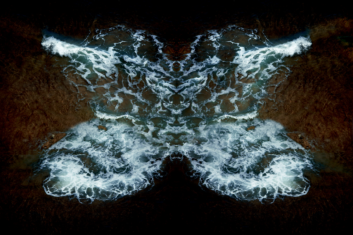 Blue Psyche, White Water Butterfly , 2017