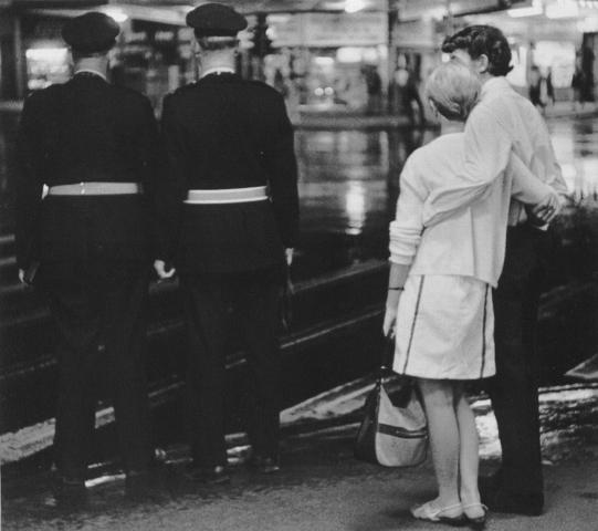 John Fields  Traffic Officers and Couple, Auckland , 1969