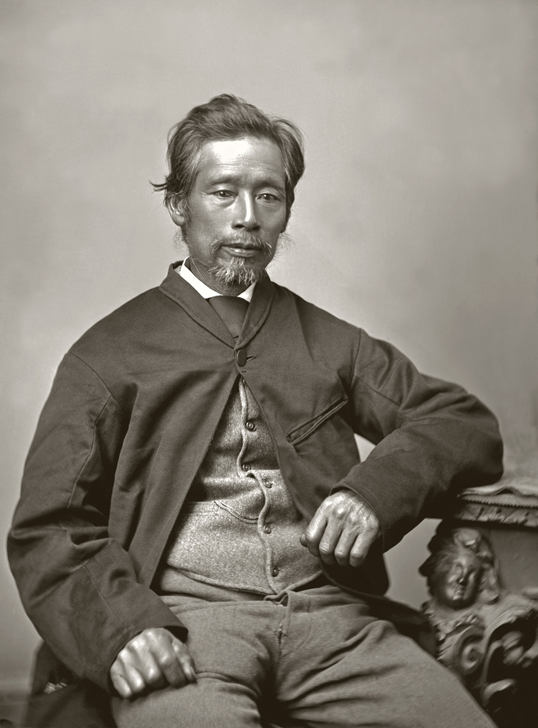 Image: Appo Hocton, the first Chinese New Zealander,1876. WE Brown Collection, Nelson Provincial Museum: 13043.
