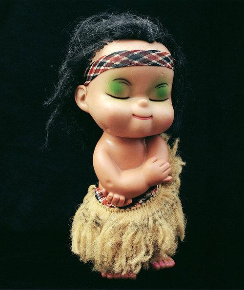 Ans Westra.  Maori Doll 1 , 2004