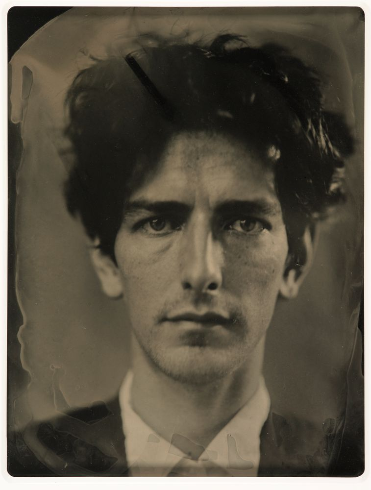 Ben Cauchi.  Self-portrait , 2006 (ambrotype)