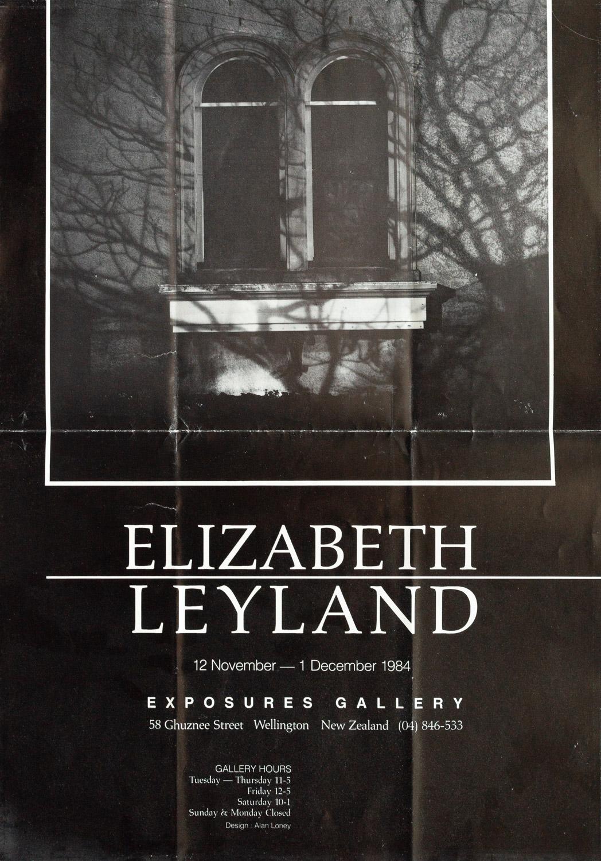 Elizabeth Leyland12 November – 1 December, 1984