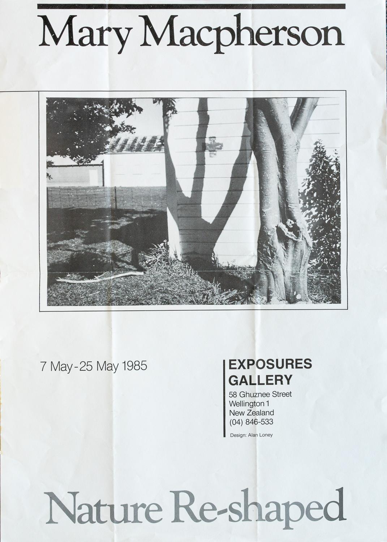 Mary MacphersonNature Re-shaped7 – 25 May, 1985