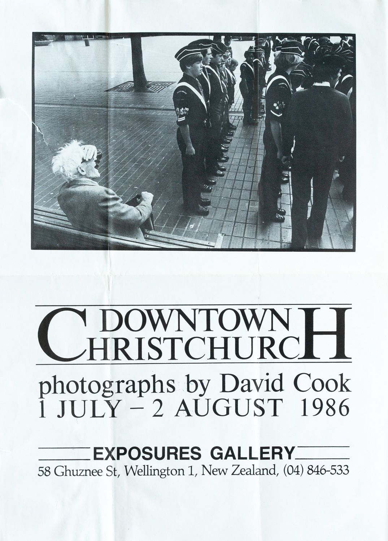 David CookDowntown Christchurch1 July – 2 August 1986