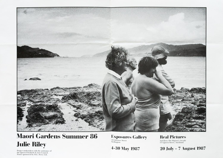 Julie RileyMaori Gardens Summer '864 – 30 May 1987