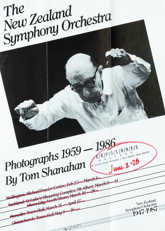 Tom ShanahanNZSO Photographs 1959-19862 – 28 June 1987