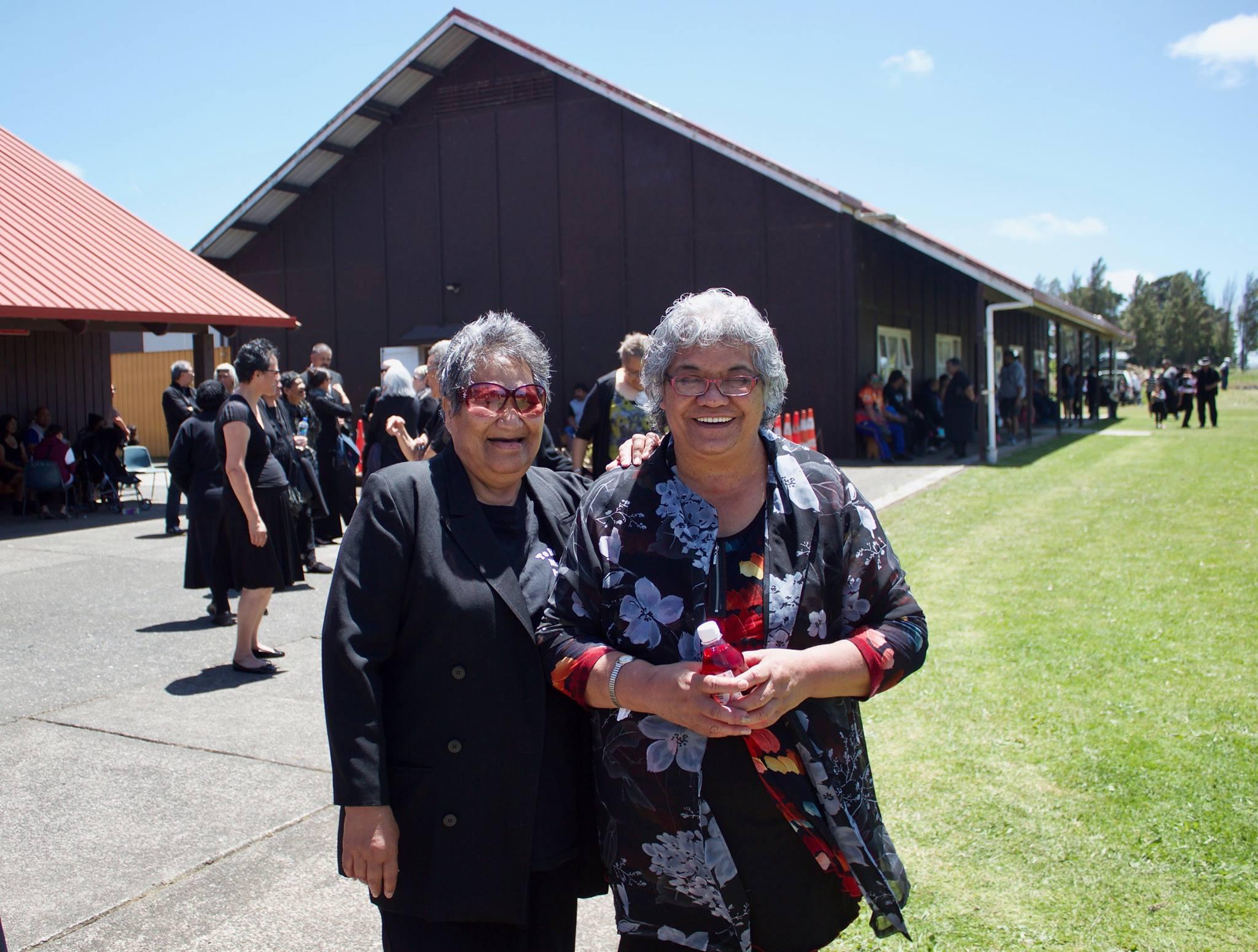 Raemon Matene,  Community leaders Whaea Rita & Whaea Raukati, Te Raki .